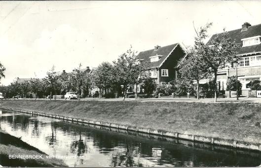 de Van Ittersumlaan in Bennebroek