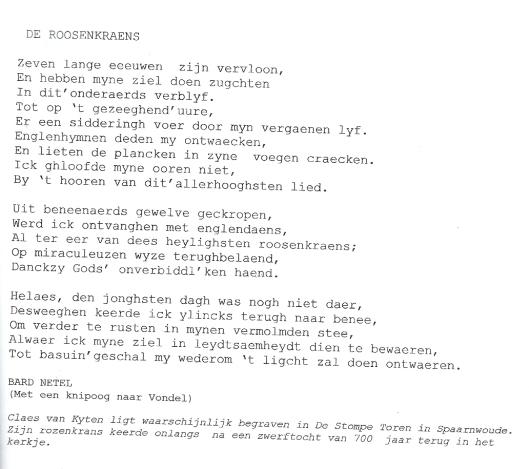 'Bard Netel' (Fred Dukker, Spaarndam)