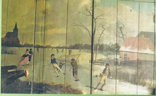 Deel van een tweeluik door Herman Gerard Wolbers, Kerklaan 13-5 Heemstede