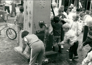Toen de pomp nog vers duinwater leverde (foto V.C.Klep)