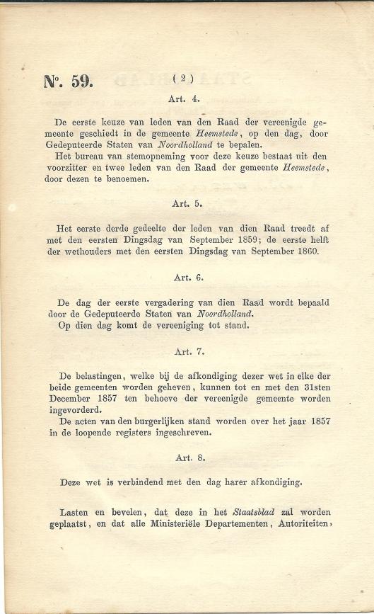 Vervolg staatsblad vereeniging Heemstede en Berkenrode (2)