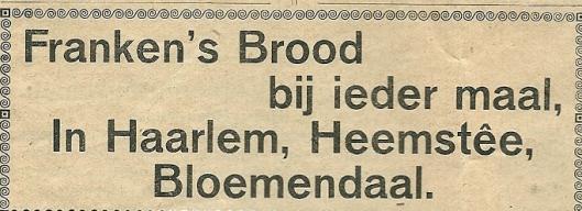 Uit: Ons Blad, 1934
