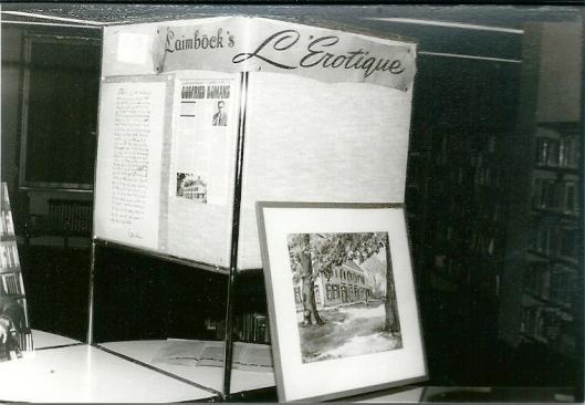 Bij een expositie gewijd aan Godfried Bomans en Berkenrode in 1977 in de bibliotheek van Heemstede werd ook aandacht besteed aan de firma Laimböck.