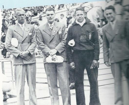 Bertus Mooi naar de Olympische Spelen in Berlijn, 1936