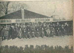 De jury van de Internationale Voorjaars-bloemententoonstelling FLORA 1925