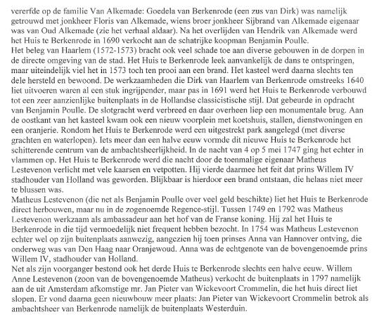 (vervolg: Buitens in de Bollenstreek; museum de Zwarte Tulp, 2012)