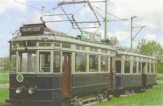 Vm. elektrische tram naar Heemstede