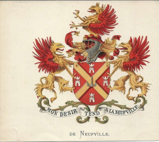 Geslachtswapen De Neufville