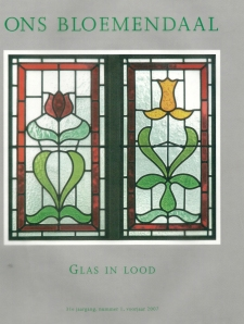 Het tijdschrift 'ons Bloemendaal', nr.1 van voorjaar 2007 (31e jaargang) is gewijd aan Glas in lood in die gemeente.