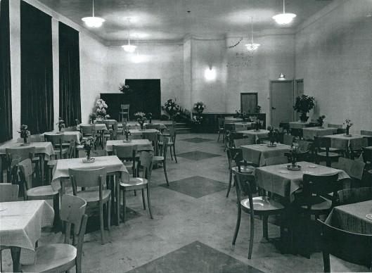 De foyer van het Minerva theater