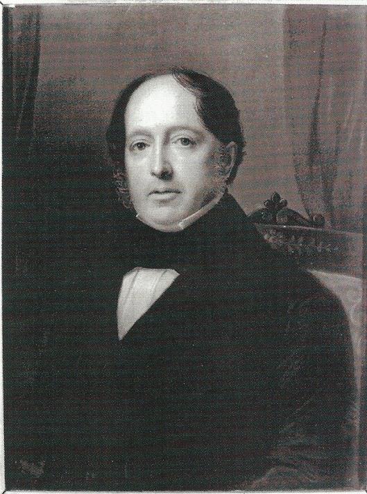Geschilderd portret van Aarnoud Hendrik van Wickevoort Crommelin (1797-1881), in bezit van de Hollandsche Maatschappij van Wetenschappen te Haarlem