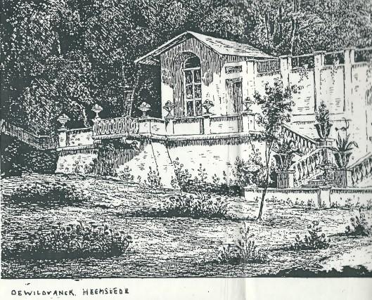 Gravure van 'de Wilvanck' Heemstede (?) (get. S.F.Cust, 1835)