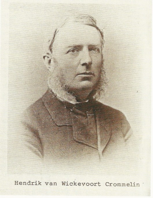 Foto van Hendrik van Wickevoort Crommelin (1832-1901)