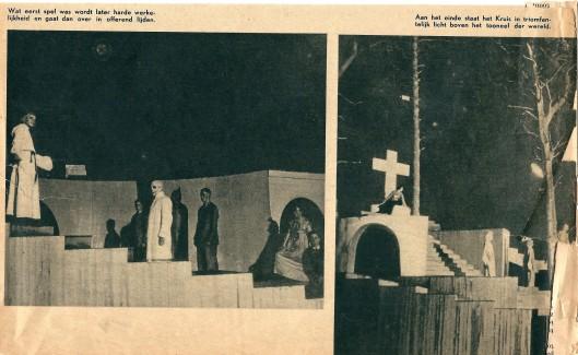 Vervolg artikel over de Christusspeler in Groenendaal uit de Kath. Illustratie van 30 september 1937