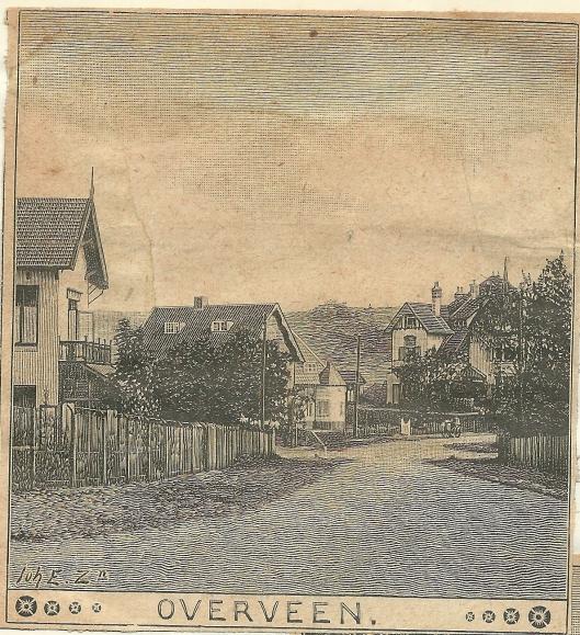 Overveen. Zondagsblad, 1910