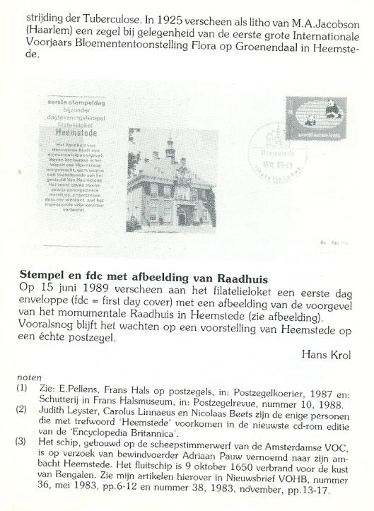 Slot (6). Uit: Heerlijkheden, nummer 101, augustus 1999