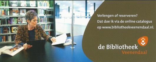 Boekenlegger openbare bibliotheek Veenendaal