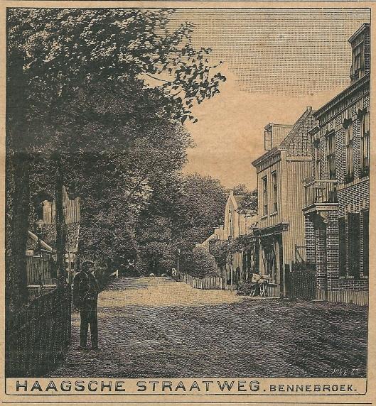 Haagsche Straatweg, Bennebroek. Zondagsblad, 9 mei 1910