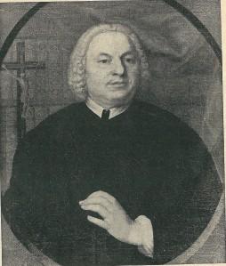 Petrus Weerts, pastoor van Berkenrode van 24 augustus 1715 tot 14 maart 1728 (vh. Bisschoppelijk Museum Haarlem)