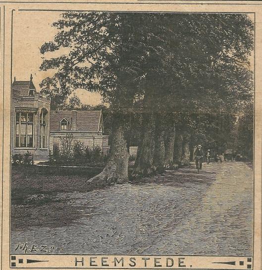 Heemstede Verenigingsgebouw Herenweg. Zondagsblad, 28 februari 1910