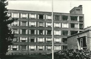 Achterzijde van Huize Kennemerduin, Herenweg 126 op een ansichtkaart uit jaren 70