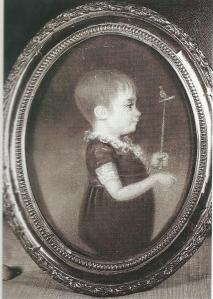 Pastel van de jonge Jacob Pieter Crommelin (1800-1873)