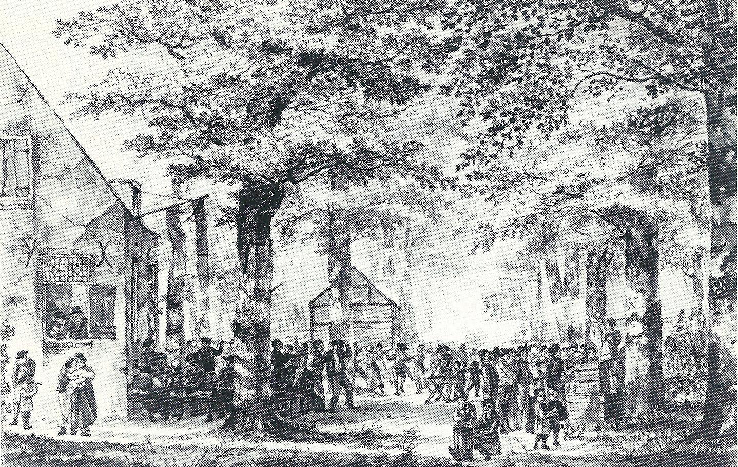 Volksvermaken in vroeger eeuwen een roomse preek uit 1741 contra de kermis librariana for Interieur 19e eeuw