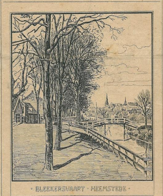 Bleekersvaart Heemstede. Zondagsblad, 21 september 1903