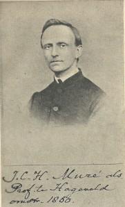 Joannes C.H.Muré als professor te Hageveld omstreeks 1860. Hij was pastoor van Berkenrode van 13 augustus 1867 tot 2 december 1875 (vh. Bisschoppelijk Museum Haarlem)