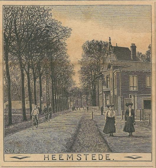 Heemstede, Heerenweg. Zondagsblad, 7 februari 1910
