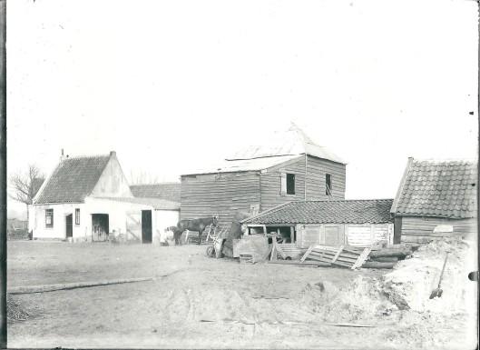 Vroegere boerderij Van Bakel aan de Molenwerfslaan Heemstede
