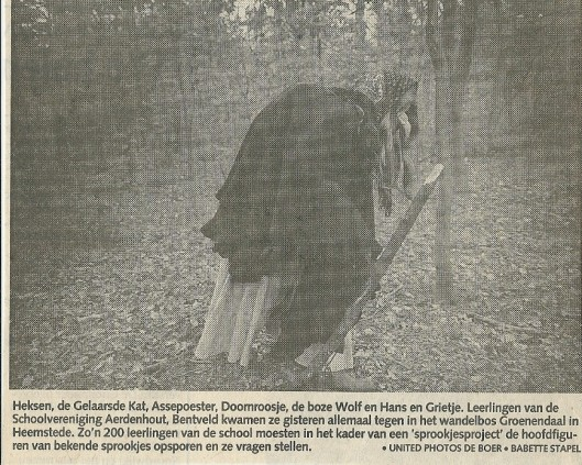Uit het Haarlems Dagblad van 17 april 1991