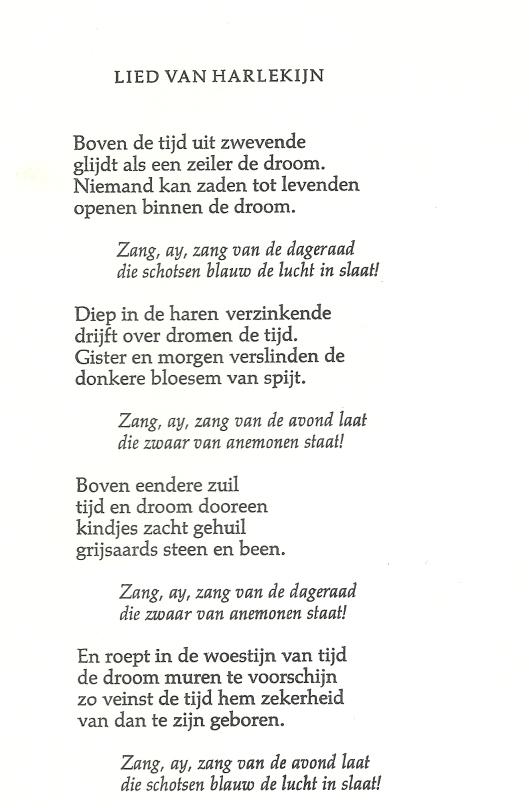 Vertaling door Dolf Verspoor