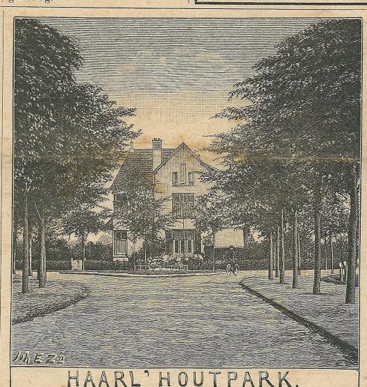 Haarlemmerhoutpark. Zondagsblad, 19 october 1908