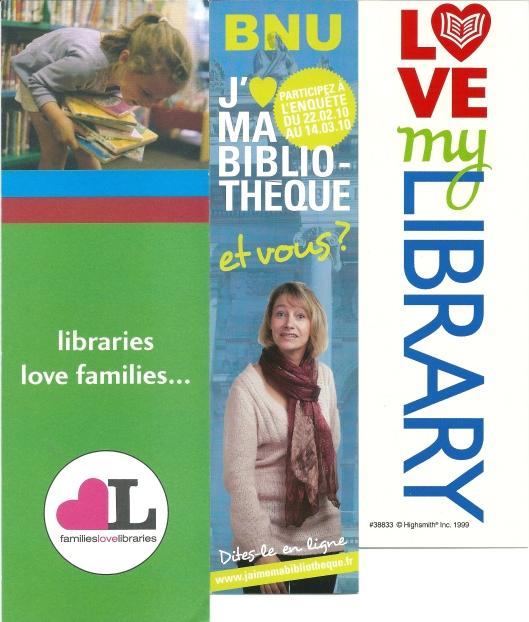 Enkele boekenleggers van buitenlandse bibliotheken
