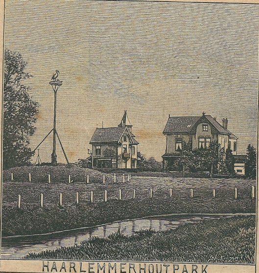 Haarlemmerhoutpark. Zondagsblad, 19 augustus 1907.