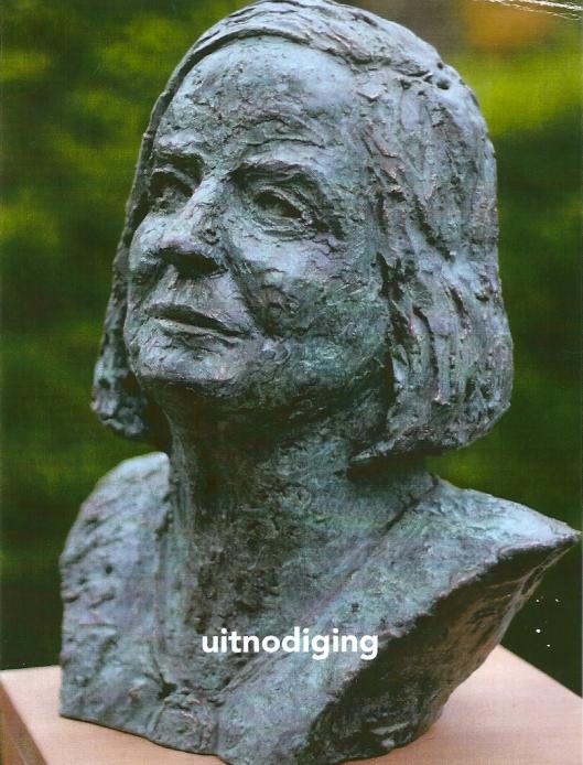 Bronzen beeld Hella Hasse door Ellen Wolff