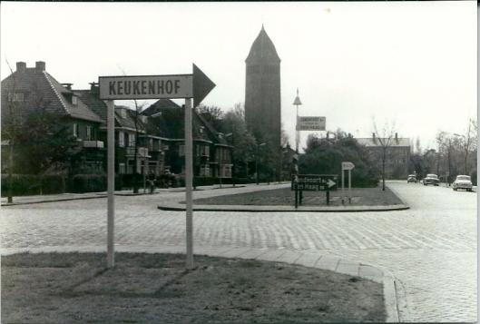 Heemsteedse Dreef bij Camplaan (1960)