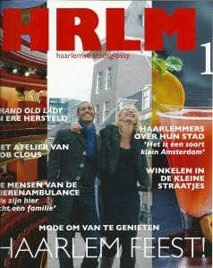Vooromslag van nummer 1 van HRLM, december 2008