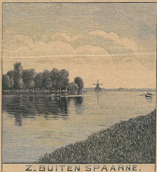 Zuider Buiten Spaarne. Zondagsblad, 15 juni 1908.