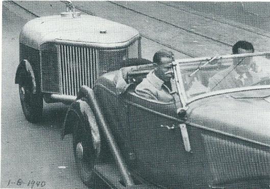 Vabwege de schaarste aan olie ontwikkelde Maus Gatsonides rijdens de Tweede Wereldoorlog een luxe gasgenerator