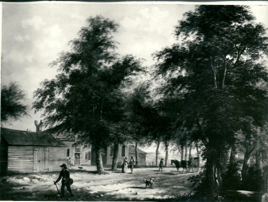 Het verdwenen schilderij van de Konijnenberg