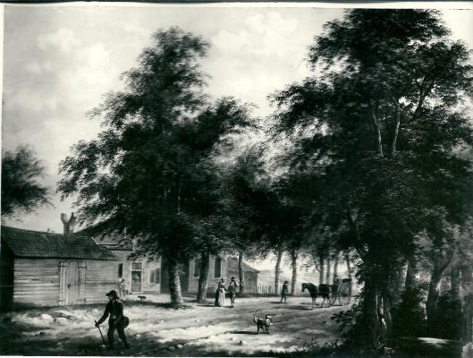 Het als gevolg van diefstal verdwenen schilderij van de Konijnenberg, toegeschreven aan Renart