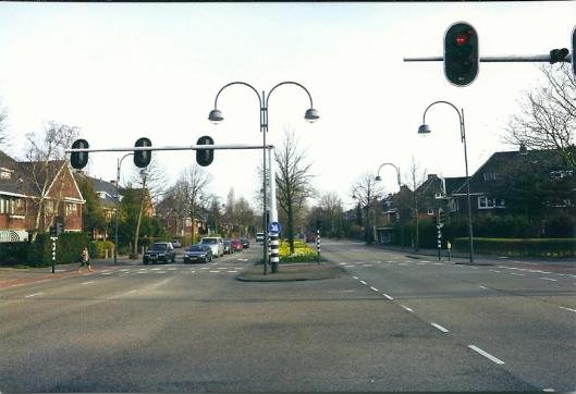 Heemsteedsse Dreef met links Zandvaartkade en rechts de Johan Wagenaarlaan