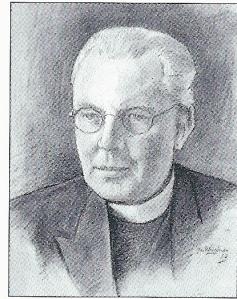 Portret van pastoor A.van Noort