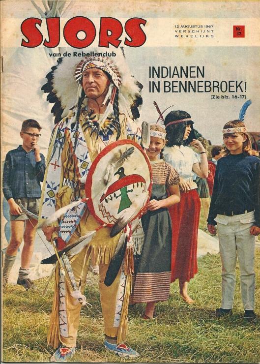 12 augustus 1967 wijdde het weekblad Sjors van de Rebellenclub een artikel aan indianen in de Linnaeushof van de heer Roozen