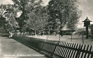 Kinderboerderij Groenendaal op een kaart uit 1954