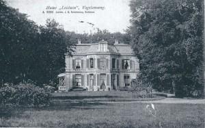 Oude prentbriefkaart van huize Leiduin