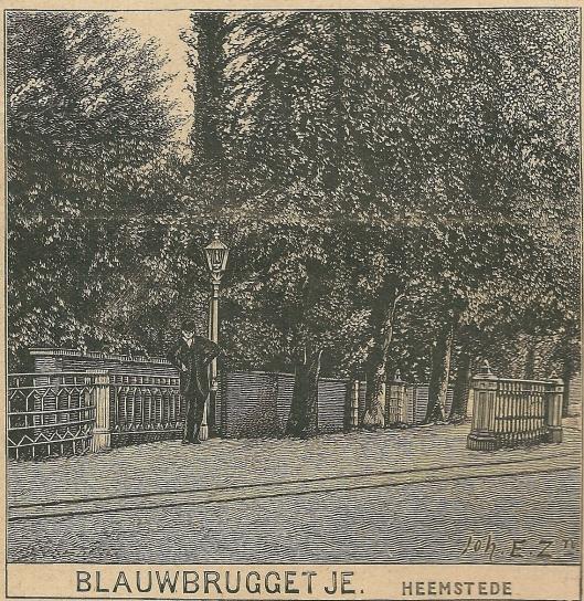 Blauwbruggetje Heemstede, 17 mei 1909
