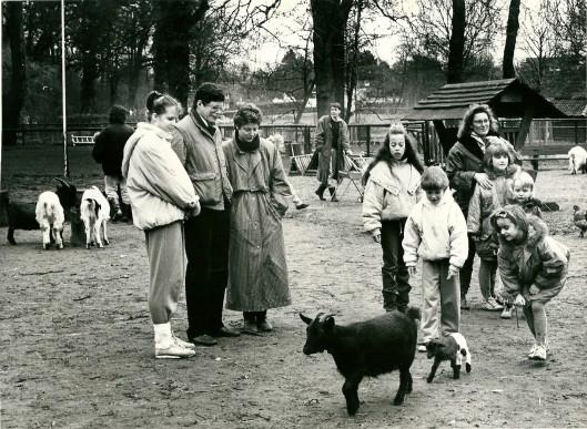 Kinderboerderij Groenendaal, februari 1989